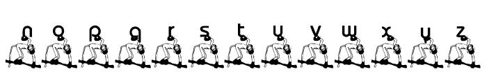 KG Monkey Font LOWERCASE