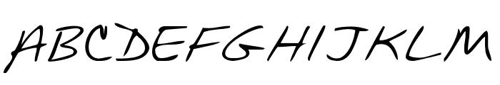 KG Mullally Font UPPERCASE