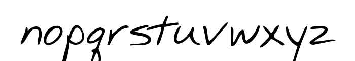 KG Mullally Font LOWERCASE
