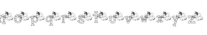 KG NANCY Font LOWERCASE