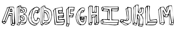 KG NKOTB Fever Font UPPERCASE