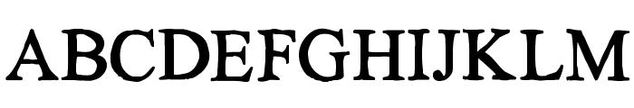 KG No Regrets Solid Font UPPERCASE