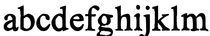 KG No Regrets Solid Font LOWERCASE
