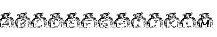 KG OWL2 Font UPPERCASE