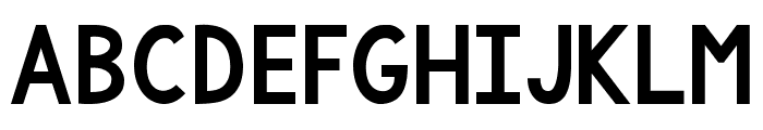 KG One More Light Regular Font UPPERCASE