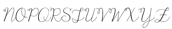 KG Only Human Font UPPERCASE
