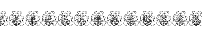 KG PATCHBEAR Font UPPERCASE