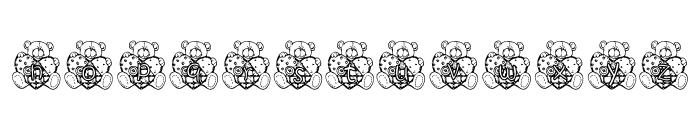 KG PATCHBEAR Font LOWERCASE