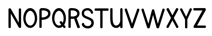 KG Primary Penmanship Font UPPERCASE