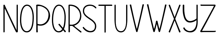 KG Rise UP Font UPPERCASE