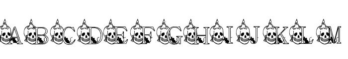 KG SKELETON Font UPPERCASE