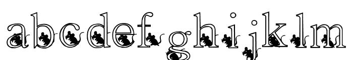 KG SKELETON Font LOWERCASE