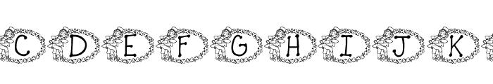 KG ST PATS 3 Font UPPERCASE