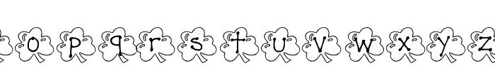 KG ST PATS 3 Font LOWERCASE