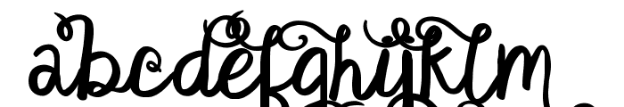 KG Satisfied Script Alt  What Font is