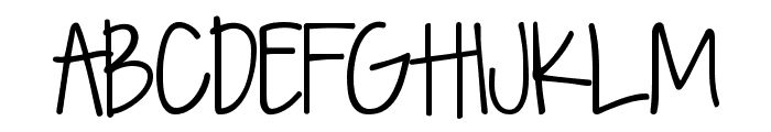 KG Seven Sixteen Font UPPERCASE