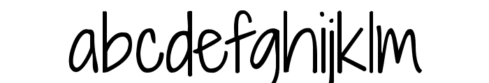 KG Shadows Into Light Font LOWERCASE