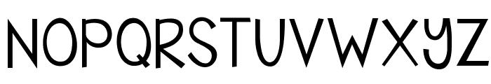 KG Shake it Off Font UPPERCASE