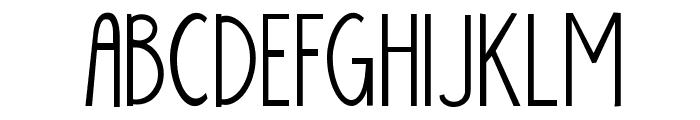 KG Skinny Latte Font UPPERCASE
