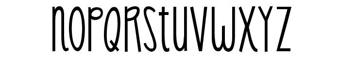KG Skinny Latte Font LOWERCASE
