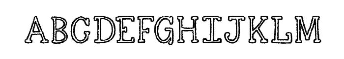 KG Skinny Love Font UPPERCASE
