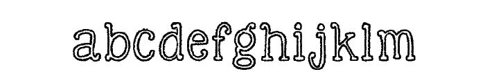 KG Skinny Love Font LOWERCASE