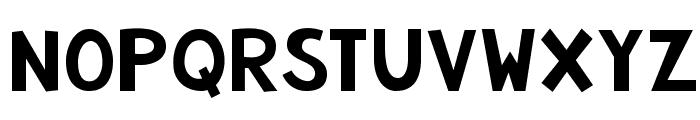 KG Summer Storm Smooth Font UPPERCASE