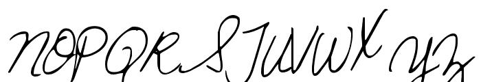 KG Sunshine In My Soul Font UPPERCASE