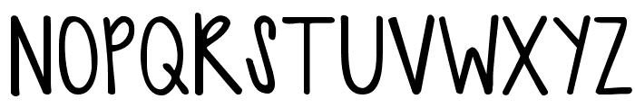 KG Sweet N Sassy Font UPPERCASE