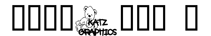 KG TEDDY FRIENDS Font OTHER CHARS
