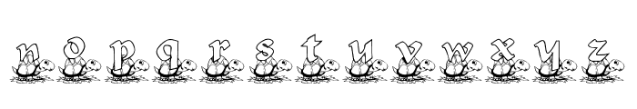 KG TURTLE Font LOWERCASE