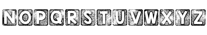 KG Thank You Stamp Font UPPERCASE
