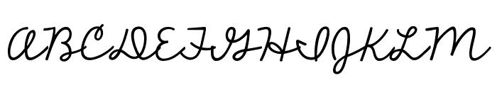 KG The Fighter Font UPPERCASE
