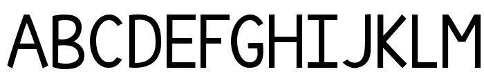 KG Thinking Out Loud Font UPPERCASE