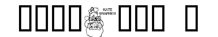 KG WINTERSNO Font OTHER CHARS