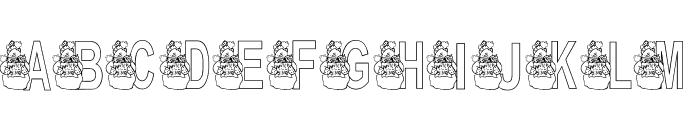 KG WINTERSNO Font UPPERCASE