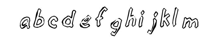 KG hALLOWEEN1 Font LOWERCASE