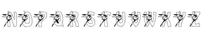 KGBALLET Font UPPERCASE