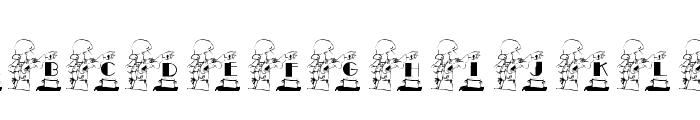 KGCHEF Font UPPERCASE