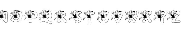 KGFAIRY Font UPPERCASE