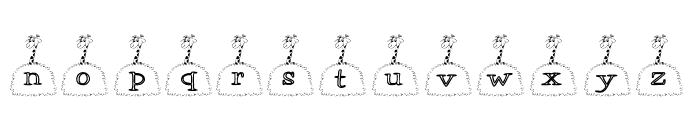 KGGIRAFFE Font LOWERCASE