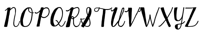 KGHardCandySolid Font UPPERCASE