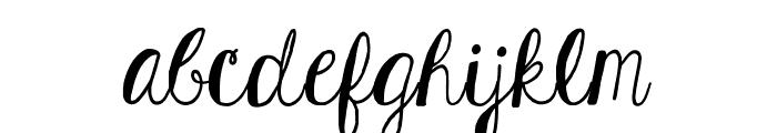 KGHardCandySolid Font LOWERCASE