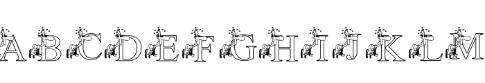KGLUVSTRUCK Font UPPERCASE