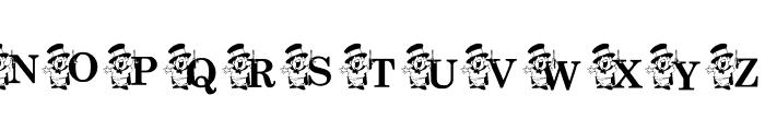 KGMAGIC Font UPPERCASE