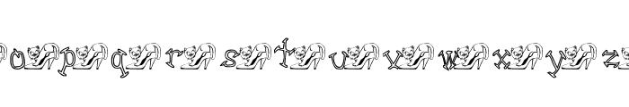 KGMSKAT Font LOWERCASE