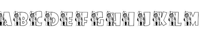 KGROYALITY Font UPPERCASE