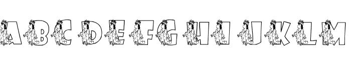 KGROYALITY Font LOWERCASE