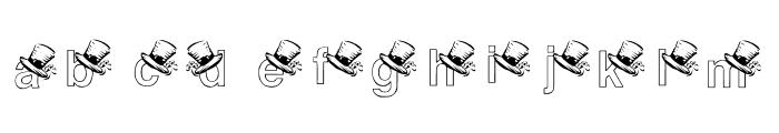 KGSTPAT2 Font LOWERCASE