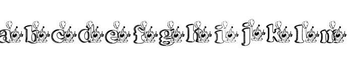 kg bday1 Font LOWERCASE